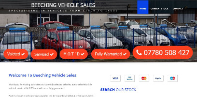 Beeching Vehicle Sales