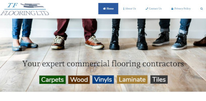 Website Designer for TF Flooring LTD